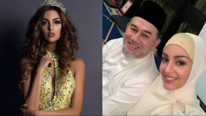 Beauty Queen Miss Moscow Converts To Islam, Marries Malaysian King