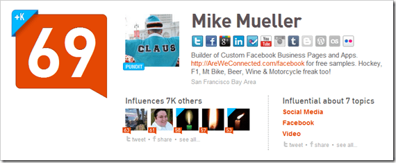 The ONE reason I'm keeping my Klout