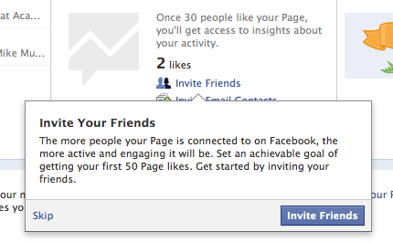 Facebook Better: Invite Your Friends (Pages)