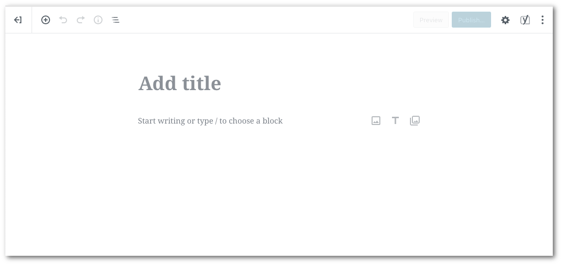 This is the new style editor (Gutenberg)