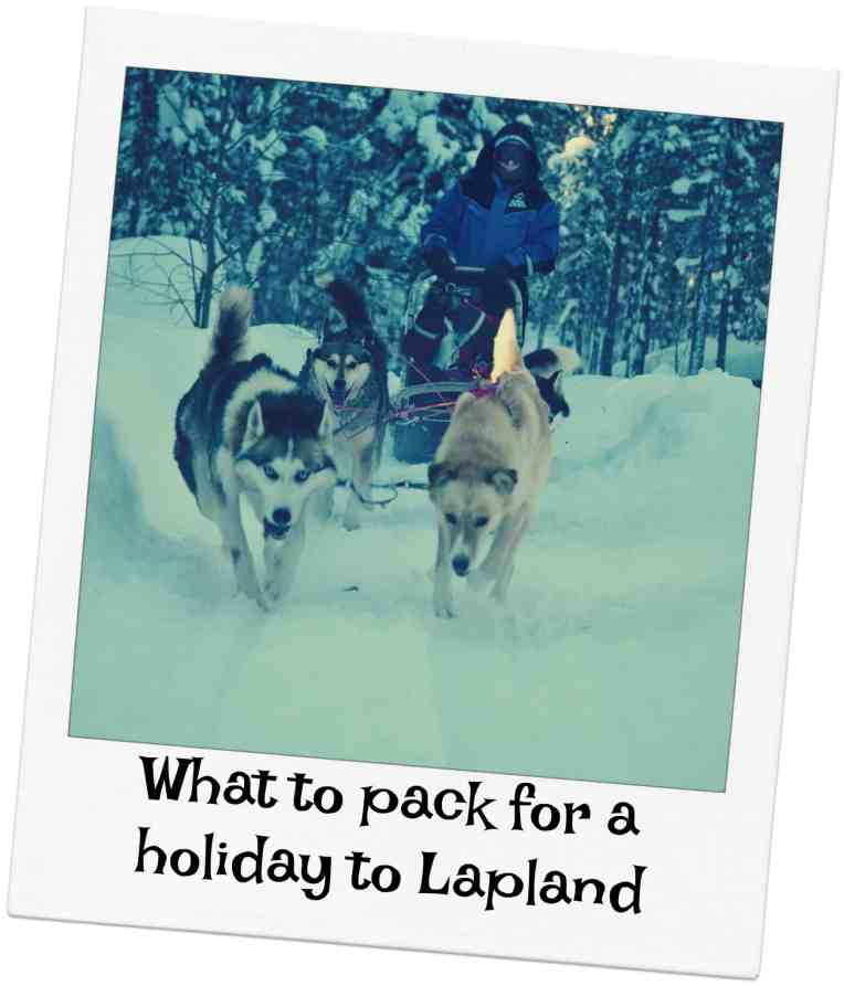 What to pack for a holiday to Lapland