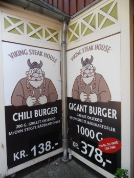 Viking Chili Burger