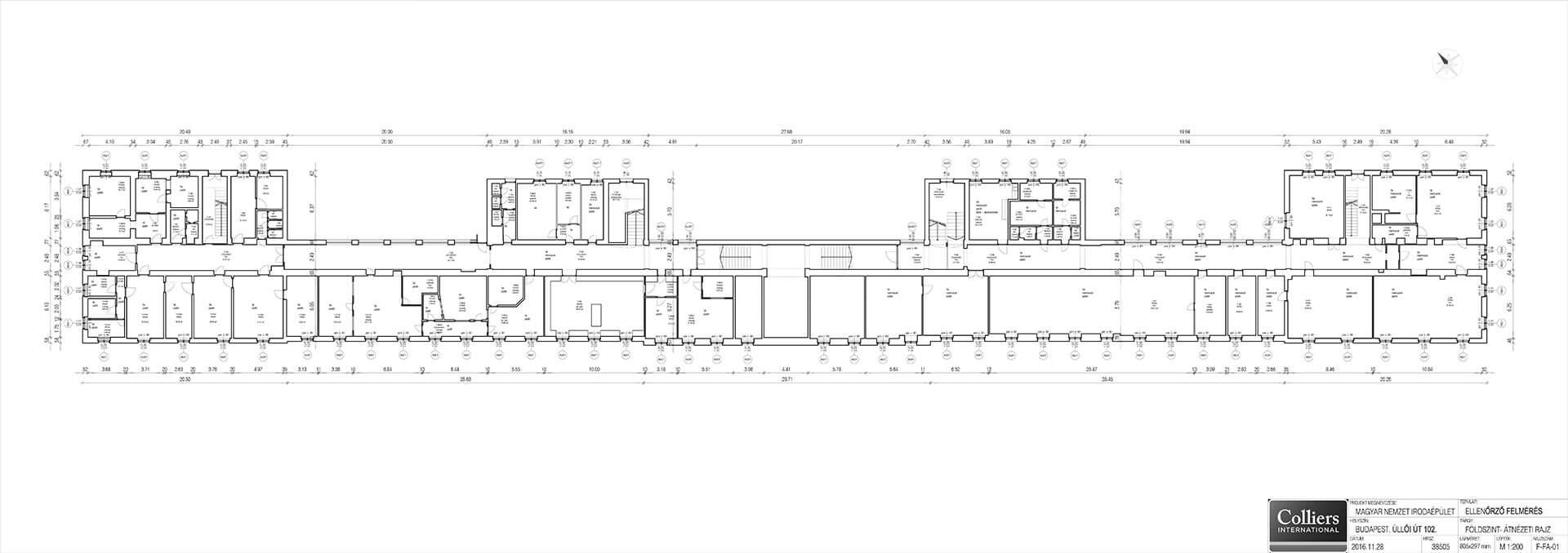 Alaprajz 1 épület földszint