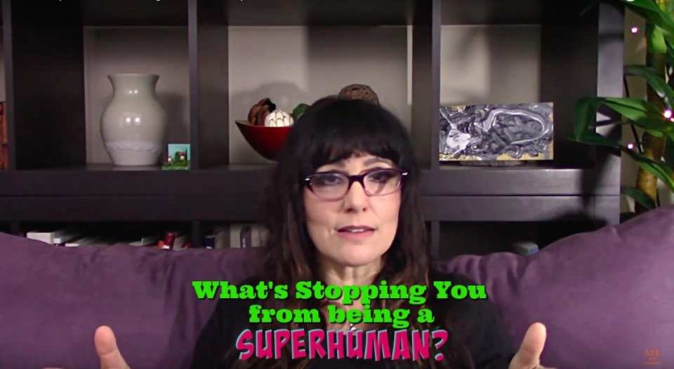 What's stopping you from being a badass superhuman? Video by Kimberly Darwin, AreYouAwakening.com