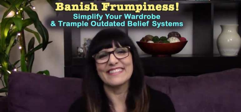 Kimberly Darwin video on banishing frumpiness