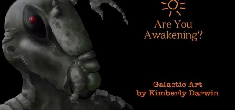 Kimberly Darwin channels galactic art