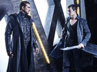Dominion Review Syfy TV - Pictured: (l-r) Carl Beukes as Archangel Gabriel, Tom Wisdom as Archangel Michael