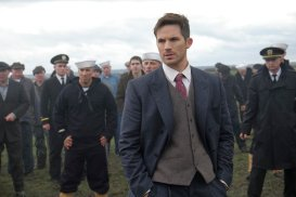 "TIMELESS -- ""Pilot"" -- Pictured: Matt Lanter as Wyatt Logan"
