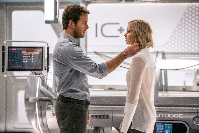Passengers Movie - Jennifer Lawrence, Chris Pratt