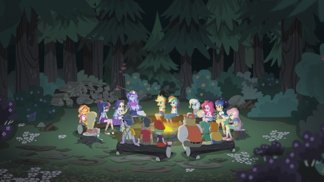 My Little Pony Equestria Girl Legend of Everfree DVD Review