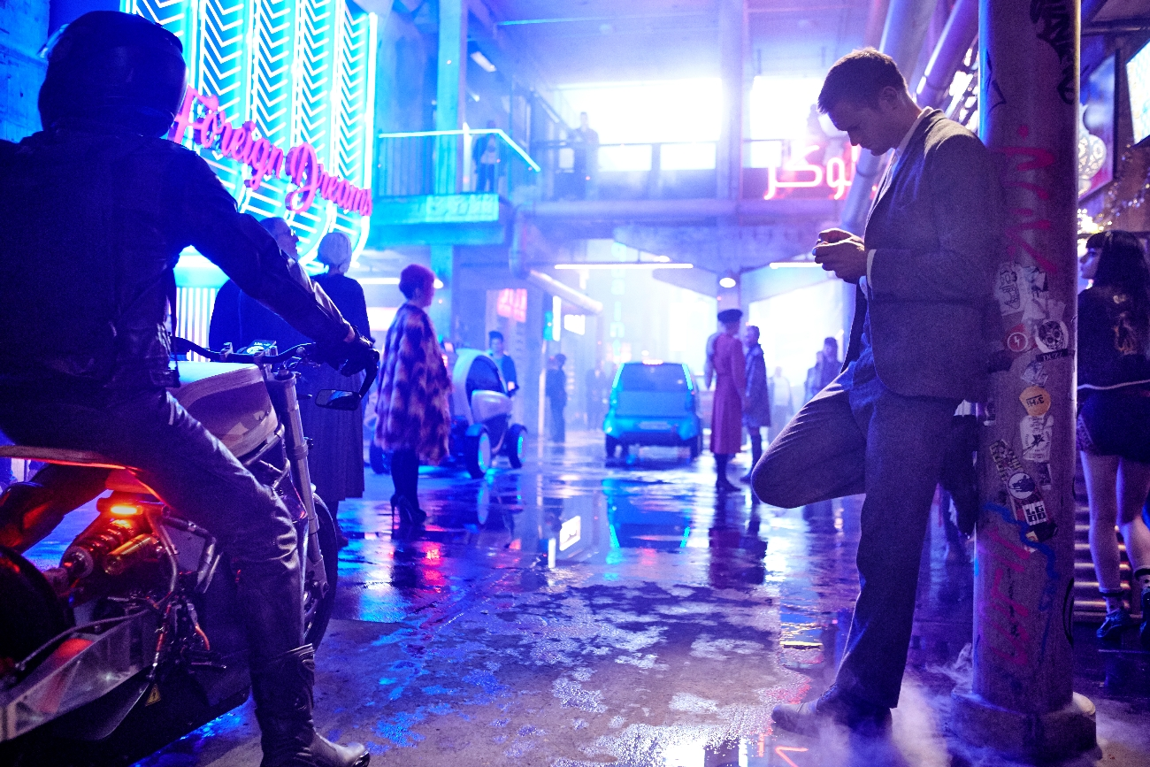 The first images from Duncan Jones' Mute arrive