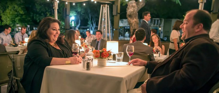 THIS IS US -- Pilot -- Pictured: (l-r) Chrissy Metz as Kate, Chris Sullivan as Toby