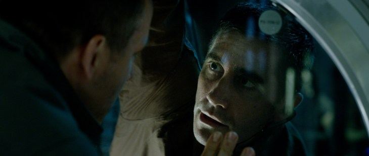 Rory Adams (Ryan Reynolds) with David Jordan (Jake Gyllenhaal) in Columbia Pictures' LIFE.