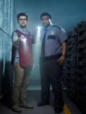 GHOSTED: L-R: Adam Scott and Craig Robinson
