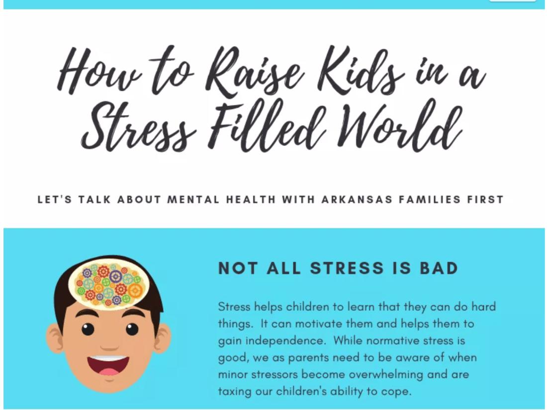 Raising kids in a stress filled world