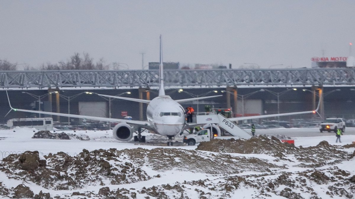 Plane skids off runway at Chicago OHare airport  ARFFWG  ARFF Working Group