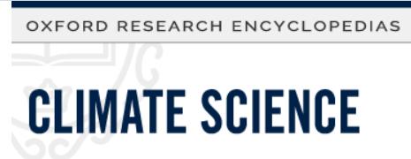 Artikel zu Climate Engineering bei der Oxford University Press