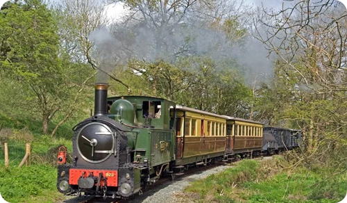 Argae-Hall-Llanfair-Light-Railway