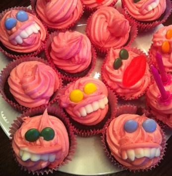 Cupcakes, muffins, godis