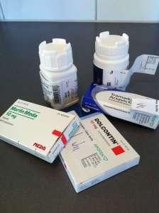Medicin, piller. Alvedon, Tramadol, Morfin