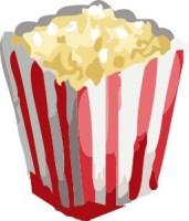 Popcorn. Första maj