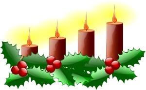 Advent, julpynt, ljusstake, julpynt