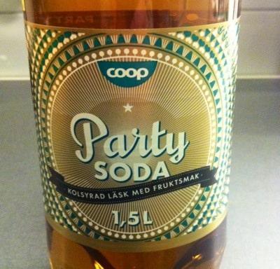 Party-soda läsk