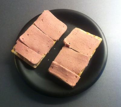 Smörgås med leverpastej. Smörgåsfascist.