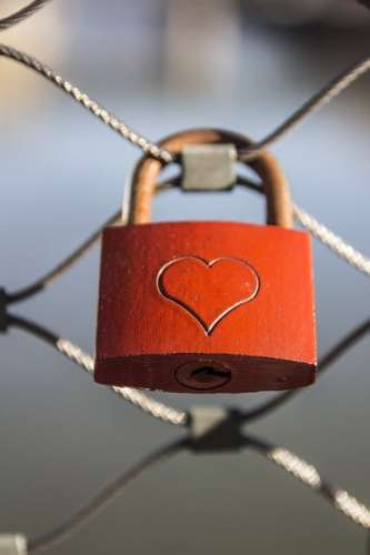 Lås med hjärta
