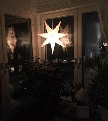 Adventsstjärna, julpynt