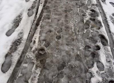 Slask, snö