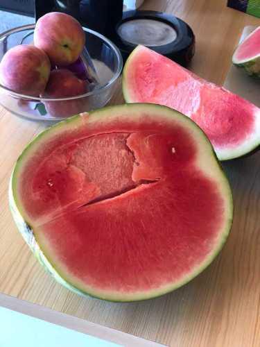 Vattenmelon utan kärnor
