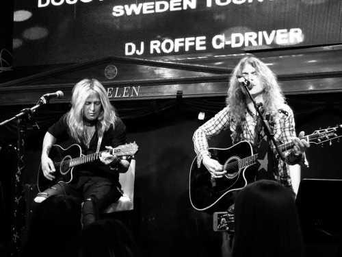 Doug Aldrich och Keith St John på Engelen i Stockholm