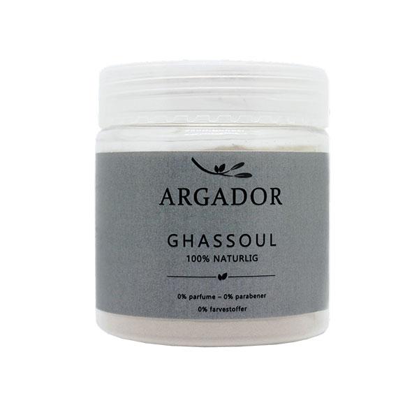 naturlig Ghassoul ler fra Argador