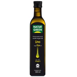 Aceite lino bio 500ml Naturgreen