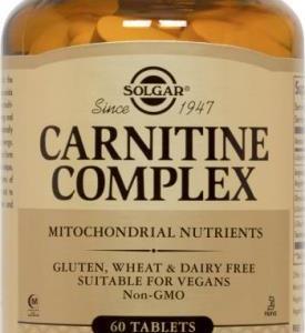Carnitina Complex 60 capsulas Solgar