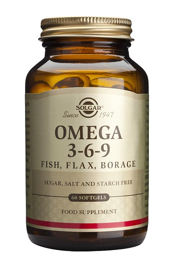 Omega 3-6-9 60 capsulas blandas Solgar
