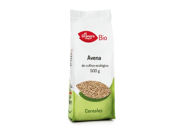 Avena grano bio 500g El Granero