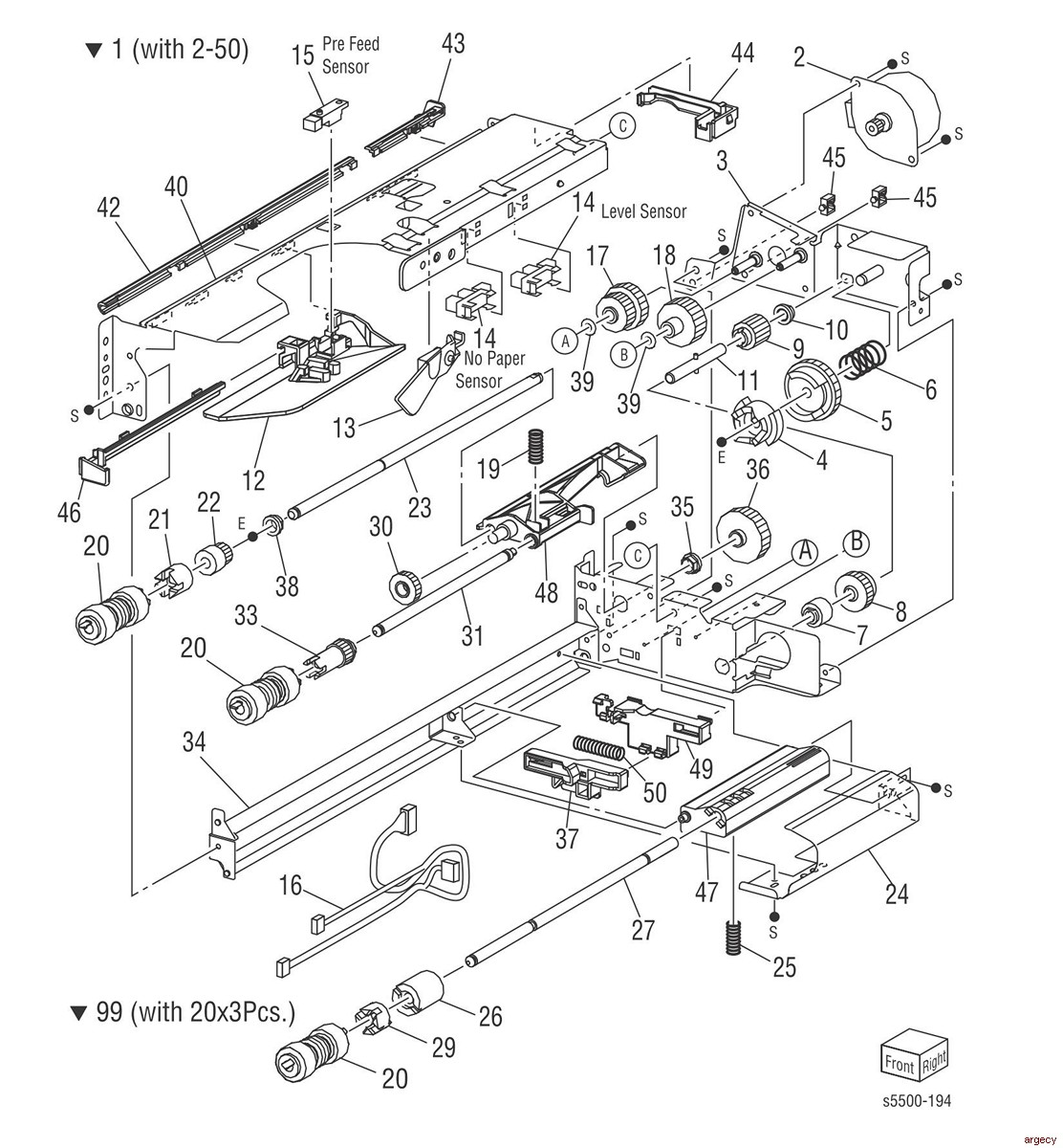 Xerox Phaser And Parts