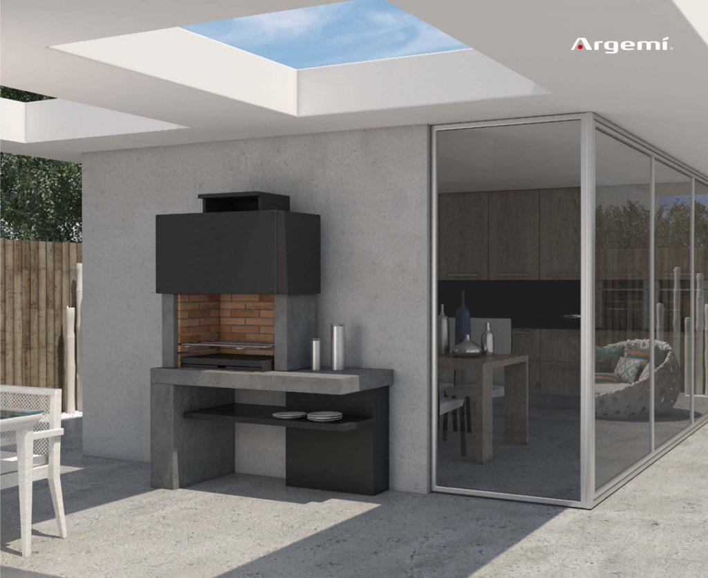 MONACO Barbacoas obra  Argemi PrefabricatsArgemi Prefabricats