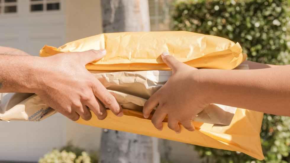 hands internet technology mail