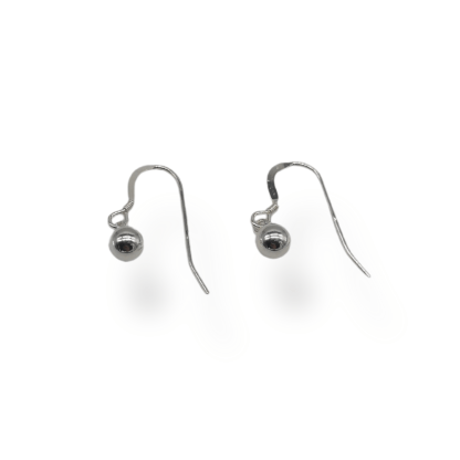 sterling silver 6mm ball dropepers