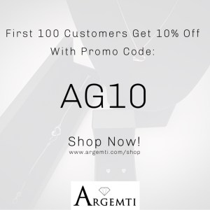 First 100 Customers Get 10% Off With Promo Code AG10! Shop Now! www.argemti.com/shop