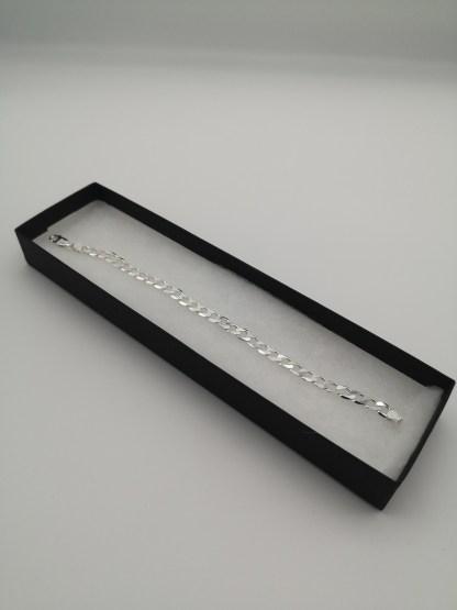 sterling silver 6mm curb bracelet