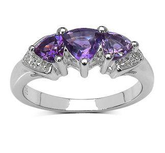 925 silver amethyst ring