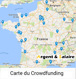 Carte de France du Crowdfunding