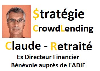 Stratégie CrowdLending - Claude, Retraité, Ex Directeur Financier 1