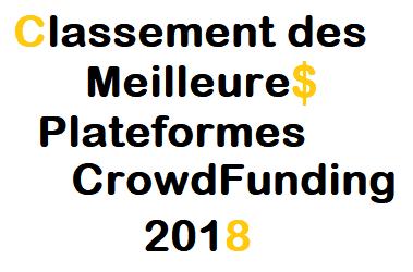 Meilleures Plateformes CrowdFunding 2018
