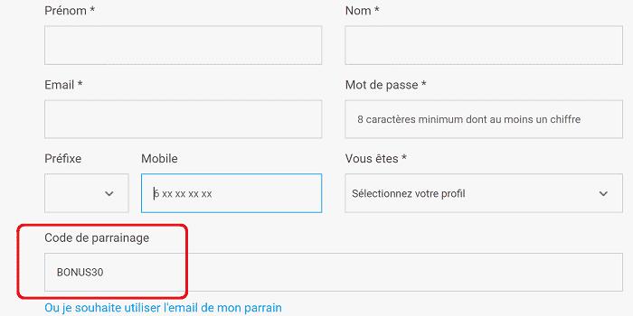 Code parrain Wesharebonds - Bonus de 30€