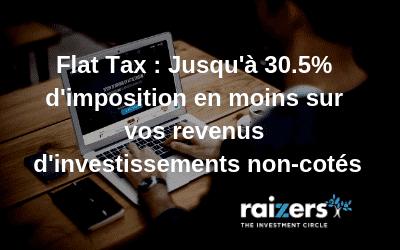 Flat tax de 30 sur le forex